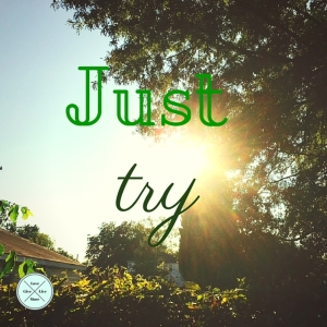 Just Try. #give #love #live #more #givelovelivemore #blog #bloggers #bloggies