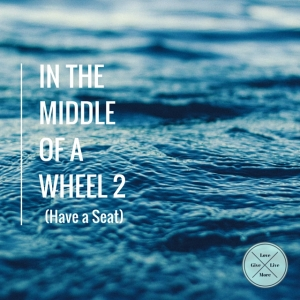 In the middleof a wheel 2 #givelovelivemore #blog #blue #writer #blogger #poet